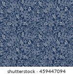 seamless floral pattern for... | Shutterstock .eps vector #459447094