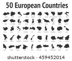 european countries. vector...