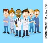cartoon vector illustration of... | Shutterstock .eps vector #459467770