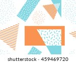 abstract vector seamless... | Shutterstock .eps vector #459469720
