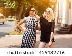 girls | Shutterstock . vector #459482716