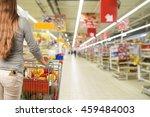 supermarket. | Shutterstock . vector #459484003