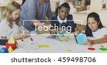 student education learning... | Shutterstock . vector #459498706
