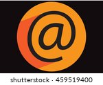 email icon vector  flat design... | Shutterstock .eps vector #459519400