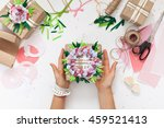 preparation for the holiday.... | Shutterstock . vector #459521413