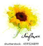 Abstract Background With Yellow ...