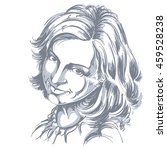 hand drawn illustration of... | Shutterstock . vector #459528238