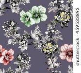 watercolor seamless pattern... | Shutterstock . vector #459533893