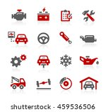 car service icons | Shutterstock .eps vector #459536506