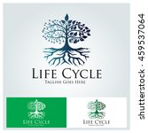 Life Cycle Logo Design Element...