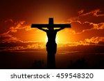 Silhouette Crucifixion Of Jesus ...