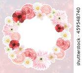 flower background for wedding... | Shutterstock . vector #459548740