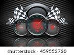 speedometer  tachometer ... | Shutterstock .eps vector #459552730