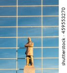 Small photo of MANCHESTER - MAY 22: Sir Alex Ferguson statue in Old Trafford football stadium in Manchester city, England, was taken on May 22, 2016.