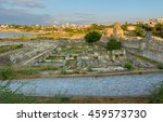 Ancient Ruins In Chersonesus...