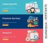 creative process conceptual... | Shutterstock .eps vector #459576970