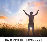 overcome and recovery concept ... | Shutterstock . vector #459577384
