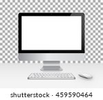 device set of realistic... | Shutterstock .eps vector #459590464