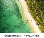 mauritius beach aerial view of... | Shutterstock . vector #459604756
