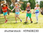 summer run | Shutterstock . vector #459608230