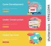creative process conceptual... | Shutterstock .eps vector #459611044