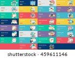 creative process conceptual... | Shutterstock .eps vector #459611146