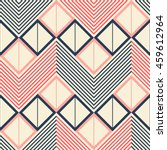 seamless geometric pattern of... | Shutterstock .eps vector #459612964