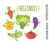 healty food cartoon representing   Shutterstock .eps vector #459619144
