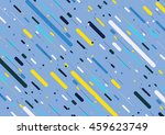 abstract color line background. | Shutterstock .eps vector #459623749