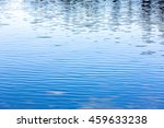 Tranquil Lake Water With Small...
