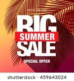 summer sale template banner | Shutterstock .eps vector #459643024