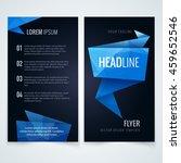 vector modern flyer  poster or... | Shutterstock .eps vector #459652546