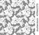 seamless pattern flowers... | Shutterstock . vector #459661570