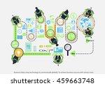 vector business ideas using...   Shutterstock .eps vector #459663748