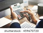 business financing accounting... | Shutterstock . vector #459670720