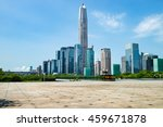 square and city in shenzhen... | Shutterstock . vector #459671878