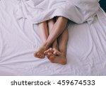 feet of couple side by side in... | Shutterstock . vector #459674533