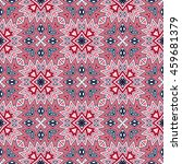 tribal geometric vector pattern.... | Shutterstock .eps vector #459681379