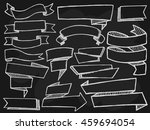 banners with shadows set on... | Shutterstock . vector #459694054