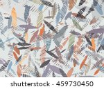 abstract background with leaves | Shutterstock .eps vector #459730450