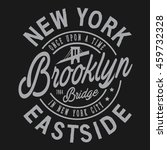 brooklyn sport typography  t... | Shutterstock .eps vector #459732328