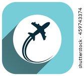 airplane vector icon  logo for...