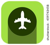 airplane vector icon  logo for...