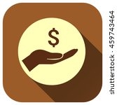 hand of money vector icon  logo ...