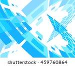wavy technology background.... | Shutterstock .eps vector #459760864