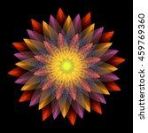 lotus blossom | Shutterstock . vector #459769360