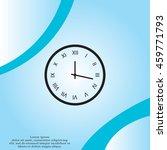 clock icon. vector illustration | Shutterstock .eps vector #459771793