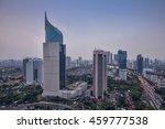 wisma 46 is a 262 m tall... | Shutterstock . vector #459777538