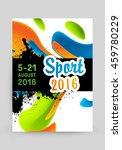 summer sport 2016  design for...   Shutterstock .eps vector #459780229