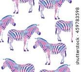 geometric zebra seamless...   Shutterstock .eps vector #459783598